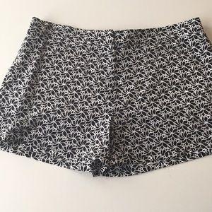 DVF Floral Silk Shorts